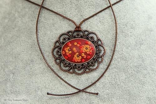 Braun Rot Ocker Kupfer-31