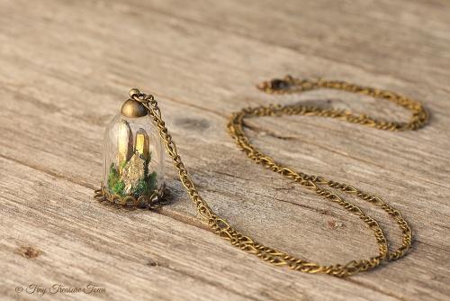 Seelensteine - Goldfarbene Quarzkristalle