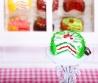 Fimo Torten Kette Erdbeere Limette Sahnecreme-01